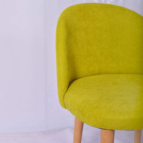 Mid-Century Sloping Back Fabric Chair Image 21
