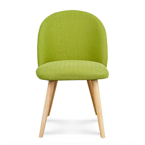 Mid-Century Sloping Back Fabric Chair Image 5