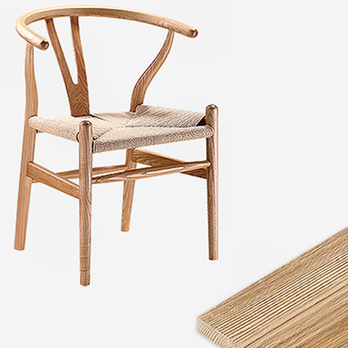 Wishbone Natural Wood Chair Image 9