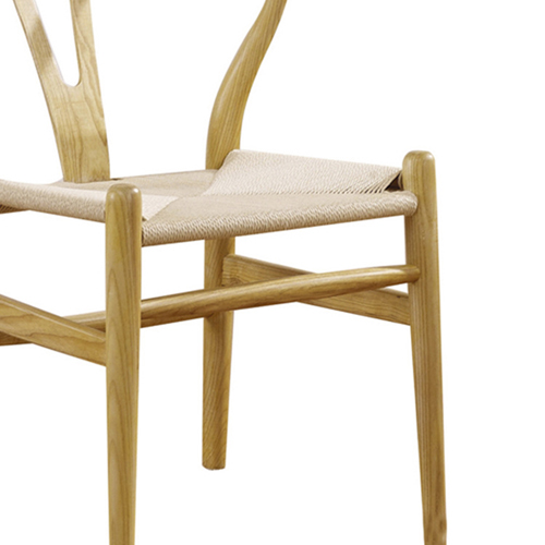 Wishbone Natural Wood Chair Image 10