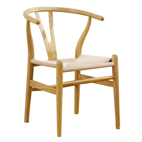 Wishbone Natural Wood Chair