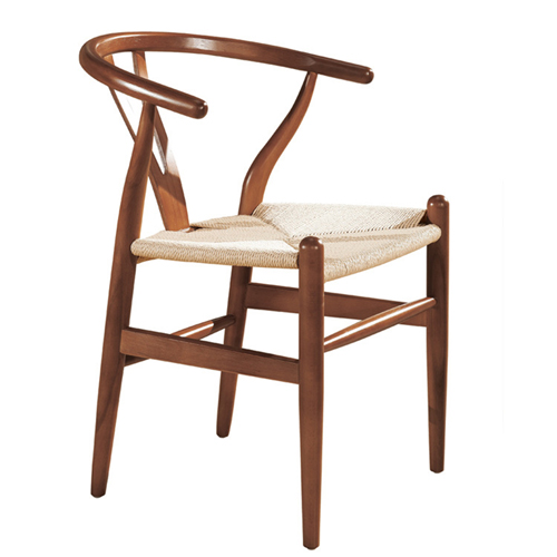 Wishbone Natural Wood Chair Image 3
