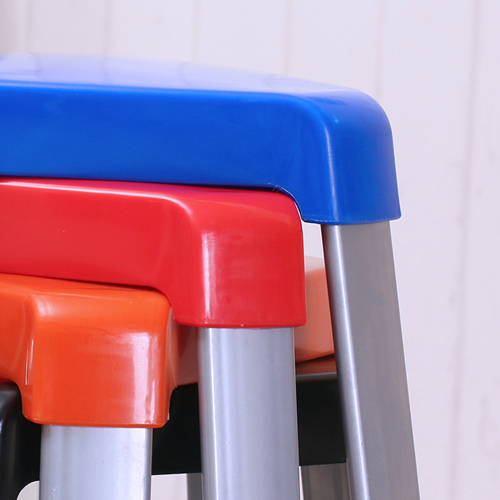 Triangle Three-Legged Stack Stool Image 12