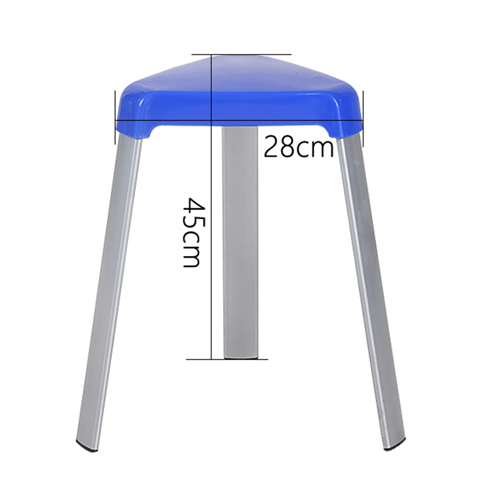 Triangle Three-Legged Stack Stool Image 13