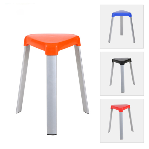 Triangle Three-Legged Stack Stool