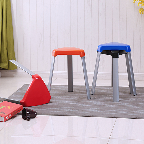 Triangle Three-Legged Stack Stool Image 1