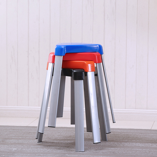 Triangle Three-Legged Stack Stool Image 2