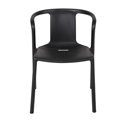 Sleek Stackable Plastic Chair Image 10