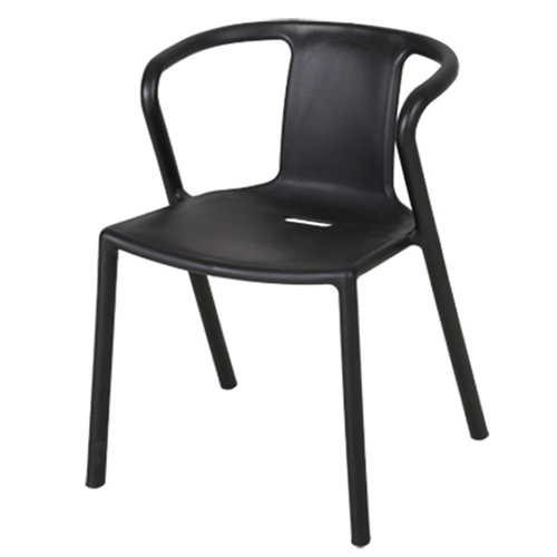 Sleek Stackable Plastic Chair Image 11
