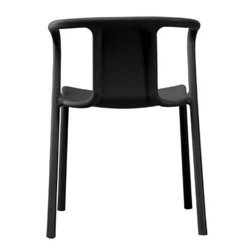 Sleek Stackable Plastic Chair Image 14