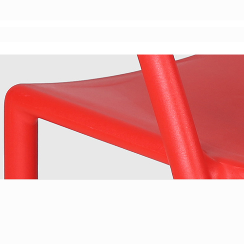 Sleek Stackable Plastic Chair Image 18