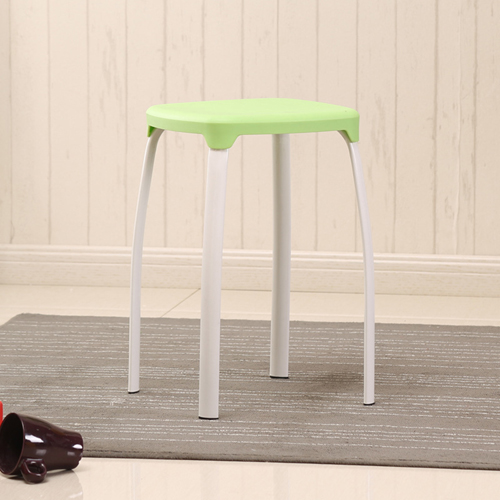 Cryogel Stackable Square Metal Leg Stool Image 9