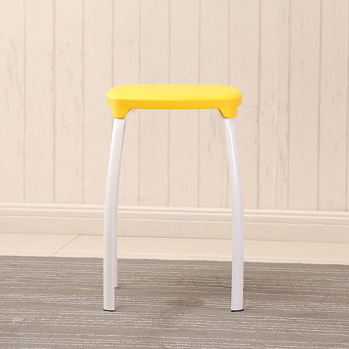 Cryogel Stackable Square Metal Leg Stool Image 11