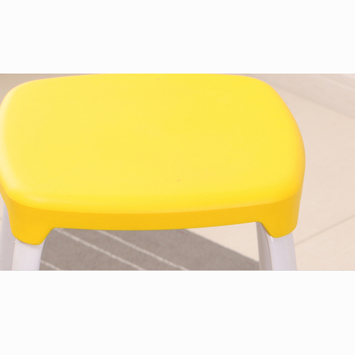 Cryogel Stackable Square Metal Leg Stool Image 12