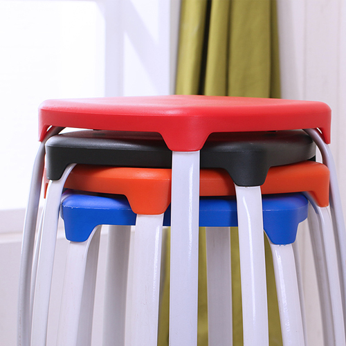 Cryogel Stackable Square Metal Leg Stool Image 16