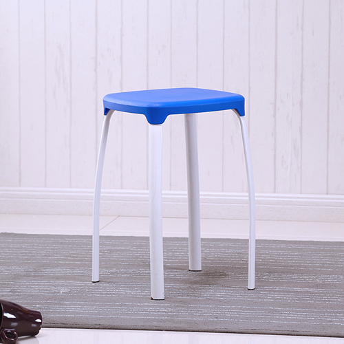 Cryogel Stackable Square Metal Leg Stool Image 3