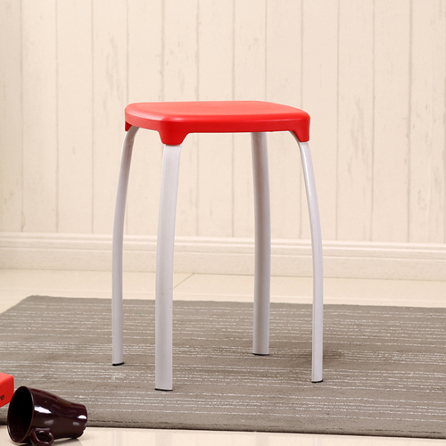 Cryogel Stackable Square Metal Leg Stool Image 4
