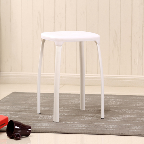 Cryogel Stackable Square Metal Leg Stool Image 5