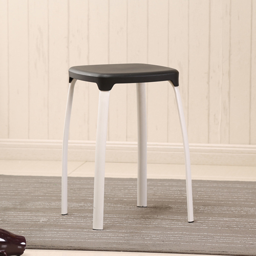 Cryogel Stackable Square Metal Leg Stool Image 6