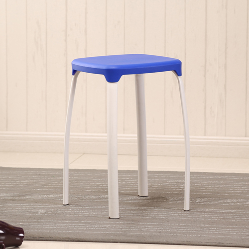 Cryogel Stackable Square Metal Leg Stool Image 7