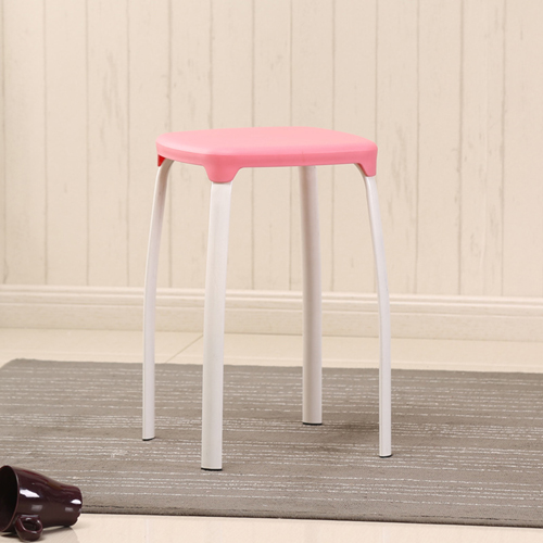 Cryogel Stackable Square Metal Leg Stool Image 8