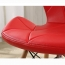 Eiffel Padded Seat Wood Leg Chair Image 18