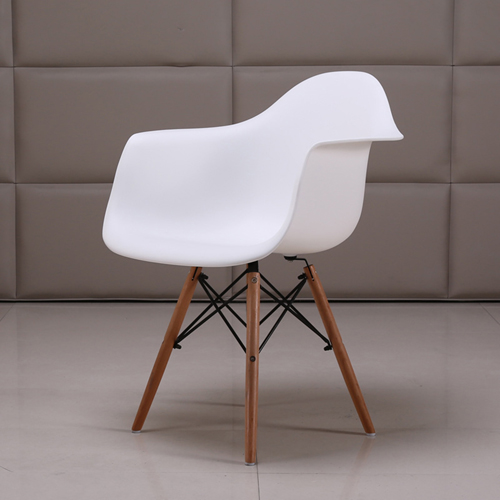 Eiffel Dining Armchair With Wooden Leg Image 10