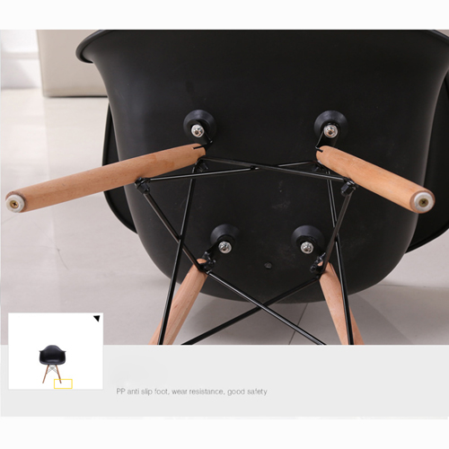Eiffel Dining Armchair With Wooden Leg Image 19