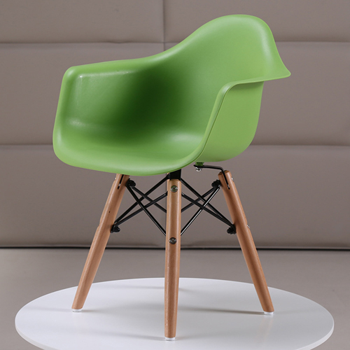 Eiffel Dining Armchair With Wooden Leg Image 4