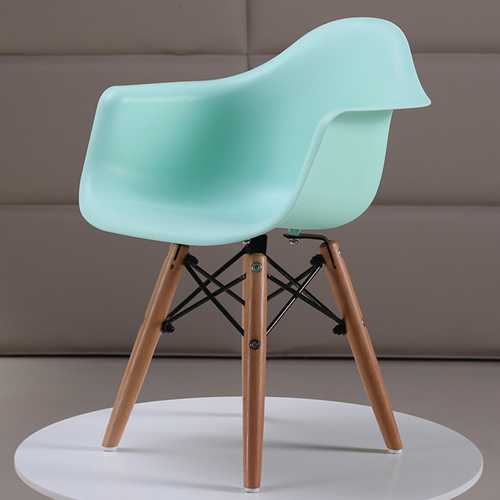 Eiffel Dining Armchair With Wooden Leg Image 5