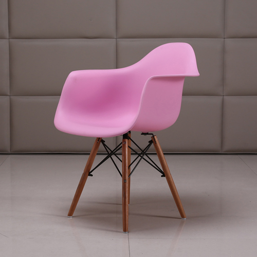 Eiffel Dining Armchair With Wooden Leg Image 6