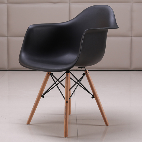 Eiffel Dining Armchair With Wooden Leg Image 8