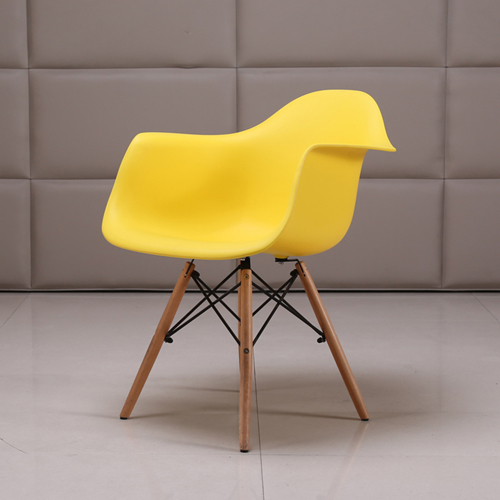 Eiffel Dining Armchair With Wooden Leg Image 9