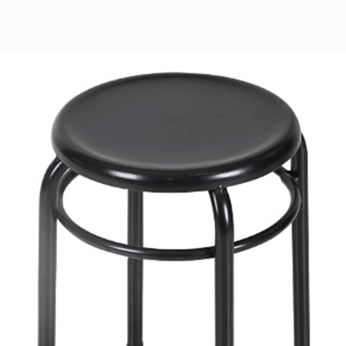 Round Metal Stackable Stool Image 7