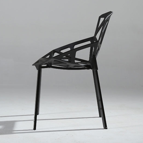 Geometric Design Dining Chair Image 9