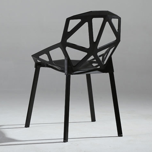 Geometric Design Dining Chair Image 10