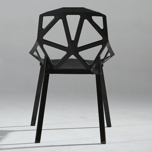 Geometric Design Dining Chair Image 11