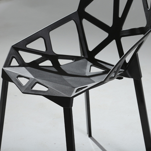 Geometric Design Dining Chair Image 12