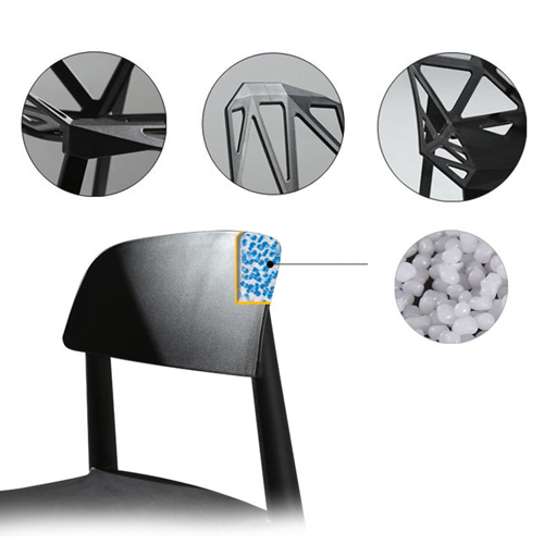 Geometric Design Dining Chair Image 13