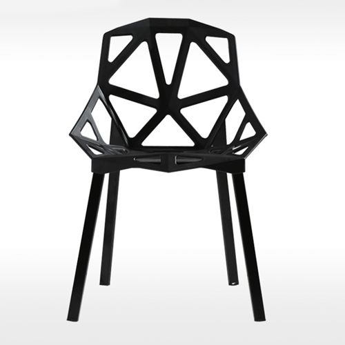 Geometric Design Dining Chair Image 1