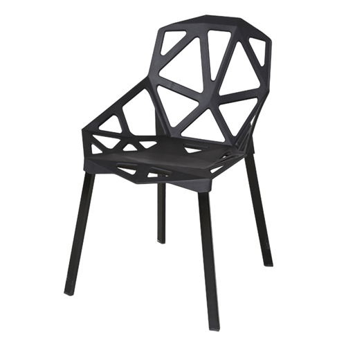 Geometric Design Dining Chair Image 3