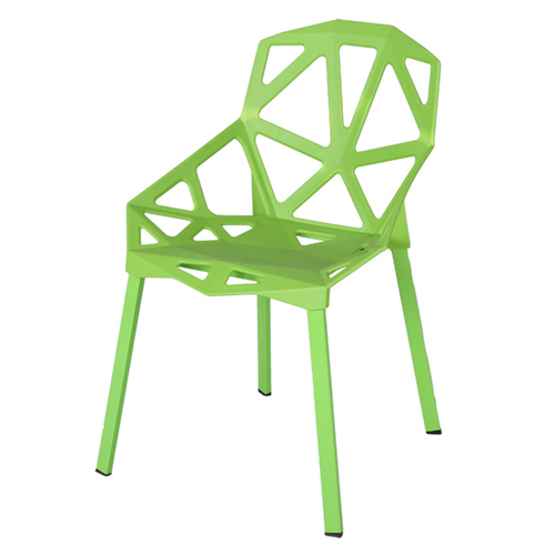 Geometric Design Dining Chair Image 4