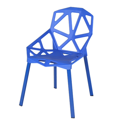 Geometric Design Dining Chair Image 5