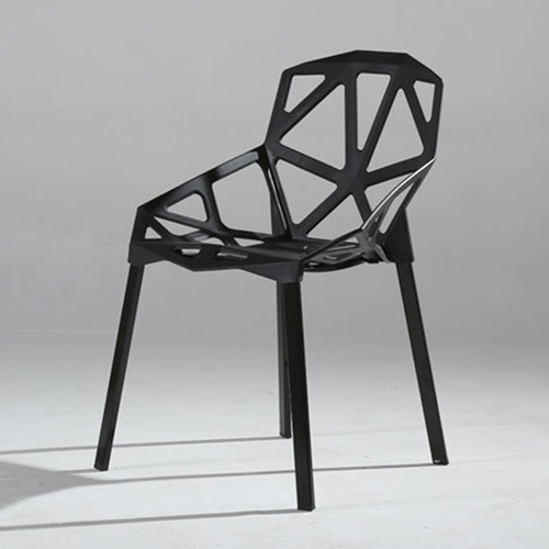 Geometric Design Dining Chair Image 8