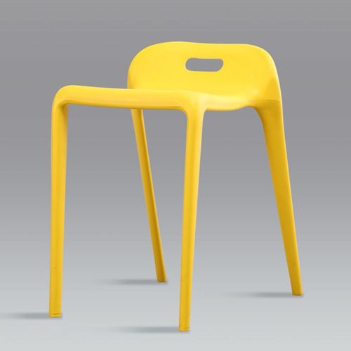 Low Back Stackable Plastic Chair Image 9