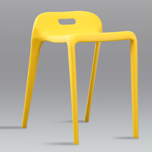 Low Back Stackable Plastic Chair Image 10