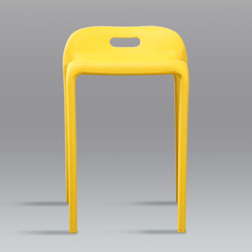 Low Back Stackable Plastic Chair Image 11