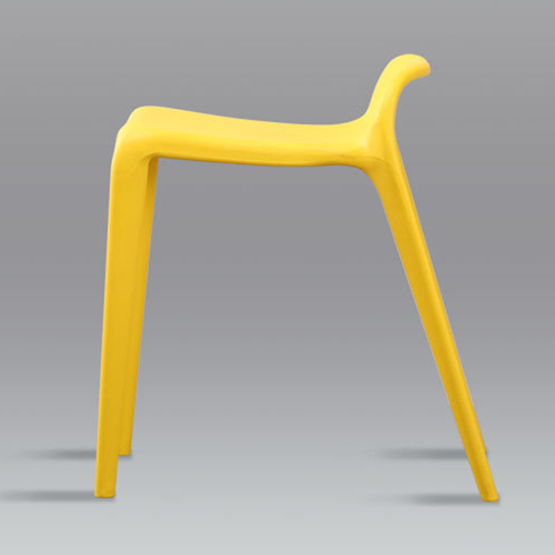 Low Back Stackable Plastic Chair Image 12