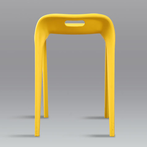 Low Back Stackable Plastic Chair Image 13