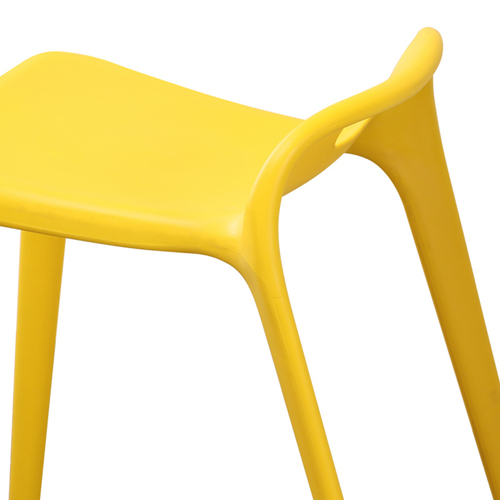 Low Back Stackable Plastic Chair Image 14